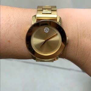 Movado Bold Gold watch
